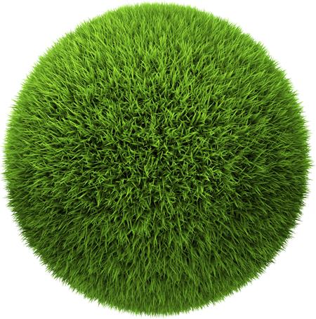 boule de pelouse